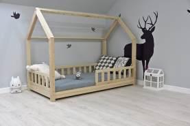Best For Kids Hausbett mit Rausfallschutz 90x190
