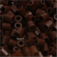 Bügelperlen, Größe 5x5 mm, Lochgröße 2,5 mm, Braun 3, Medium, 6000 Stück