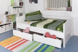 Steiner Einzelbett 'Easy Premium Line K1/s Voll' weiß, 90x200 cm