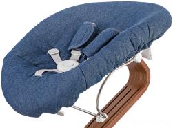Evomove 'Nomi Baby' Matratze für Neugeborenenaufsatz, Premium Denim