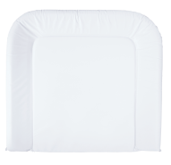 bébé-jou 'Uni' Wickelauflage weiß 72x77 cm