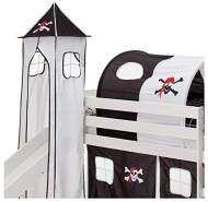 Idimex 'Pirat' Turm schwarz/Weiss