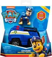 Spin Master Paw Patrol Basic Vehicle Polizei-Fahrzeug Spielfahrzeug, mit Chase-Figur)