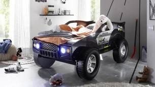 Bega 'SUV' Autobett 90x200 cm mit Beleuchtung, schwarz
