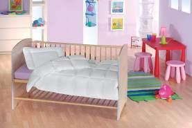 f.a.n. Medisan Marken Kinder Steppbett-Set, 100x135 + 40x60 cm, allergieneutral