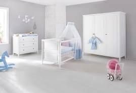 Pinolino 'Smilla' 3-tlg. Babyzimmer-Set weiß