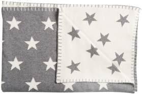 Schardt 'Big Star' Kuscheldecke grau/beige, 95x120 cm