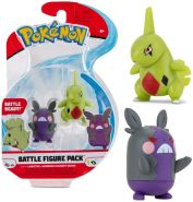 Auswahl Battle Figuren   Pokemon   Action Figur   Spiel-Figur zum Sammeln Larvitar & Morpeko