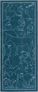Kinderteppich 'Gimmliis' Die Sieben bekanntesten Märchen als Läufer 80x200 cm