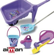 Aiman Sandspielzeug My Little Pony – 7-teiliges Set