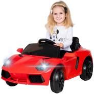 Kinder Elektroauto Kinderauto Kinderfahrzeug Elektrofahrzeug Spielzeug Auto (Rot)