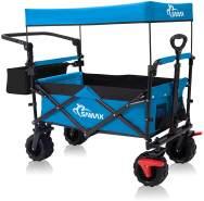 Samax 'Offroad' Klappollerwagen mit Dach, Blau