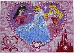 Disney Princess Kinderteppich 95x133 cm