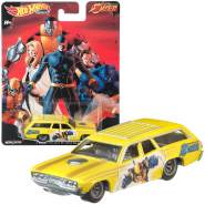Cars Mattel DLB45 - '71 Plymouth Satellite - Pop Culture X-Men | Hot Wheels Premium Auto Set