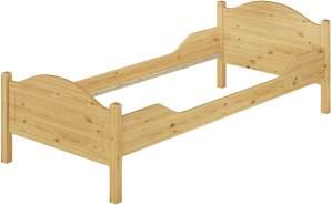 Erst-Holz Einzelbett Kiefer 90x200 cm, natur