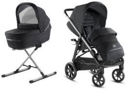 Inglesina 'Aptica – Kit System Duo' Kinderwagen 2 in 1 2020, Mystic Black