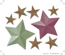 Wallies 'Barn Stars' Wandaufkleber