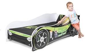 Nobiko Autobett grün 160 x 80 cm