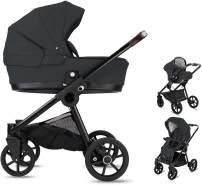 Minigo Groove | 3 in 1 Kombi Kinderwagen | Luftreifen | Farbe: Dark Grey