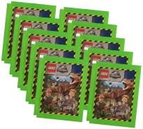 Blue Ocean Jurassic World Lego Sticker (2020) - 10 Tüten - Sammelsticker