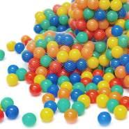 200 bunte Bälle für Bällebad 7cm Babybälle Plastikbälle Baby Spielbälle