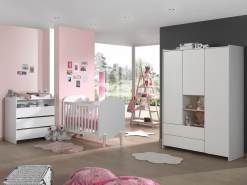 Vipack 'Kiddy' 4-tlg. Babyzimmer-Set
