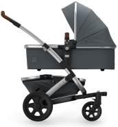 Joolz 'Geo 2 Mono' Kombikinderwagen 2 in 1 2020 Gorgeous Grey, inkl. Sportsitz und Tragewanne