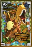 Lego Jurassic World Karten - Jurassic World Trading Cards (2021) - LE15 Gold Karte