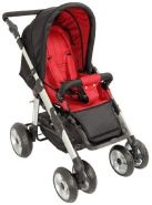 United-Kids - Sportwagen Kinderwagen QX-519 Black-Red