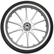 Emmaljunga Rad ohne Gabel 230mm Duo S/Super Nitro/Super Viking silber