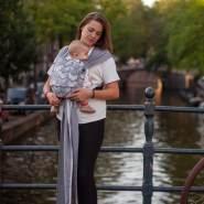 Hoppediz 'Hop-Tye Buckle Amsterdam' stone