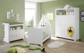 Trendteam 'Olivia' 5-tlg. Babyzimmer-Set weiß