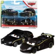 Mattel - Lewis Hamilton & Bruce Boxmann   Disney Cars   Fahrzeug Modelle 2020   Cast 1:55