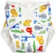 Imse Vimse All-in-One Diaper Organic - Die Alles In Einem Windel Zoo P (newborn - preemie) 2,5-5 kg