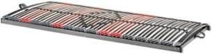 Betten-ABC Max-Premium NV 7-Zonen-Lattenrost mit 44 Leisten und Mittelzonenverstellung Größe 80 x 200 cm