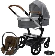 Joolz 'Day+' Kombikinderwagen Gorgeous Grey inkl. Cybex Cloud Z Plus Babyschale Khaki Green
