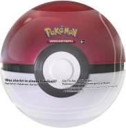 Pokemon Sammelkarten Pokeball Tin 2020 Farbwahl (Farbe: Rot)