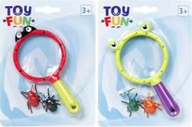 Toy Fun Lupe mit Käfer, 1 Lupe, zufällige Auswahl, keine Vorauswahl möglich