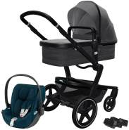 Joolz 'Day+' Kombikinderwagen Awesome Anthracite inkl. Cybex Cloud Z Plus Babyschale Mountain Blue