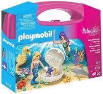 Playmobil 9324 Playset Princess, Magical Mermaids Carry Case, 46 Teile
