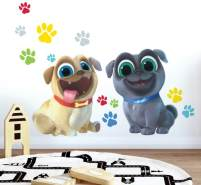 RoomMates - Puppy Dog Pals - Wandsticker Wandtattoo Sticker RMK3775GM