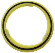 frisbee Phlat Flügelmesser gelb 29 cm