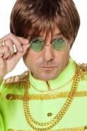 Brille John Lennon - grün - Hippie Brillen grün