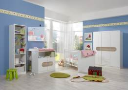 Babyzimmer-Set LILLY 6tlg