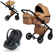 Anex 'e/type' Kombikinderwagen 3 in 1 2020 Caramel mit Babyschale Recaro Avan