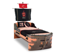 Cilek Black Pirate Piratenschiffsbett 90x190