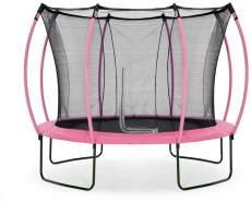 Plum Springsafe Trampolin Colours mit Sicherheitsnetz Pink 305 cm