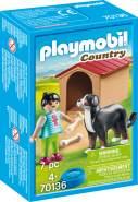 Playmobil Country 70136 'Hofhund mit Hütte', 7 Teile, ab 4 Jahren