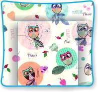 Polini Kids 'Owls' Wickelauflage 75 x 85 cm