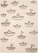 Zala Living Kinderteppich Spielteppich Paper Boat Sammy 120x170 cm